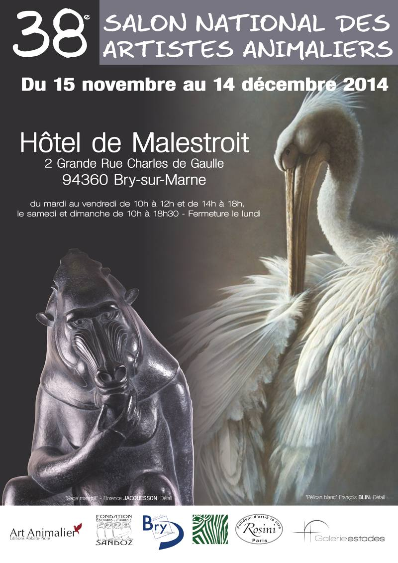 38 salon national artiste animalier onvasortir paris for Artiste animalier